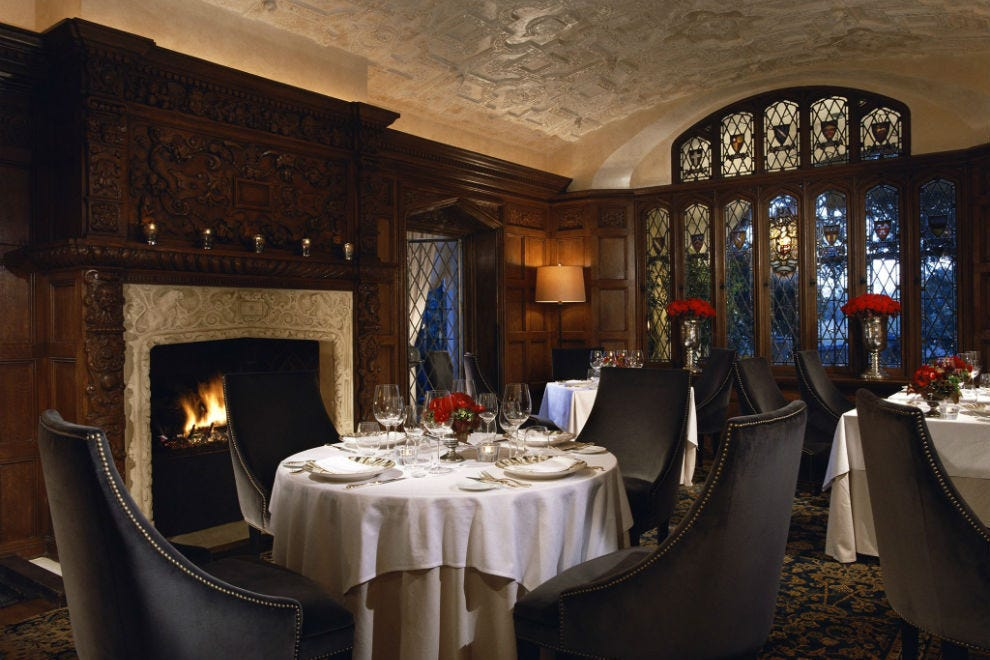 The Mansion Restaurant at Rosewood Mansion on Turtle Creek