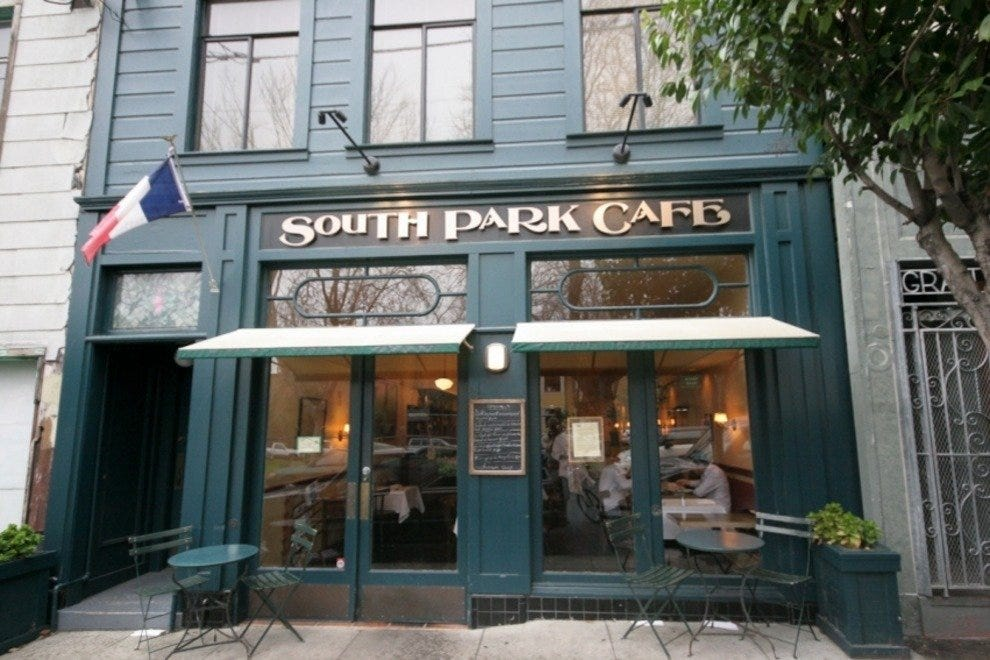South Park Café San Francisco Restaurants Review 10best Experts