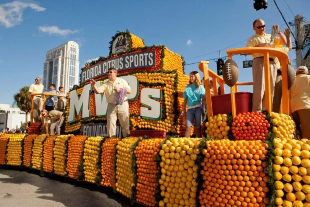佛罗里达柑橘游行