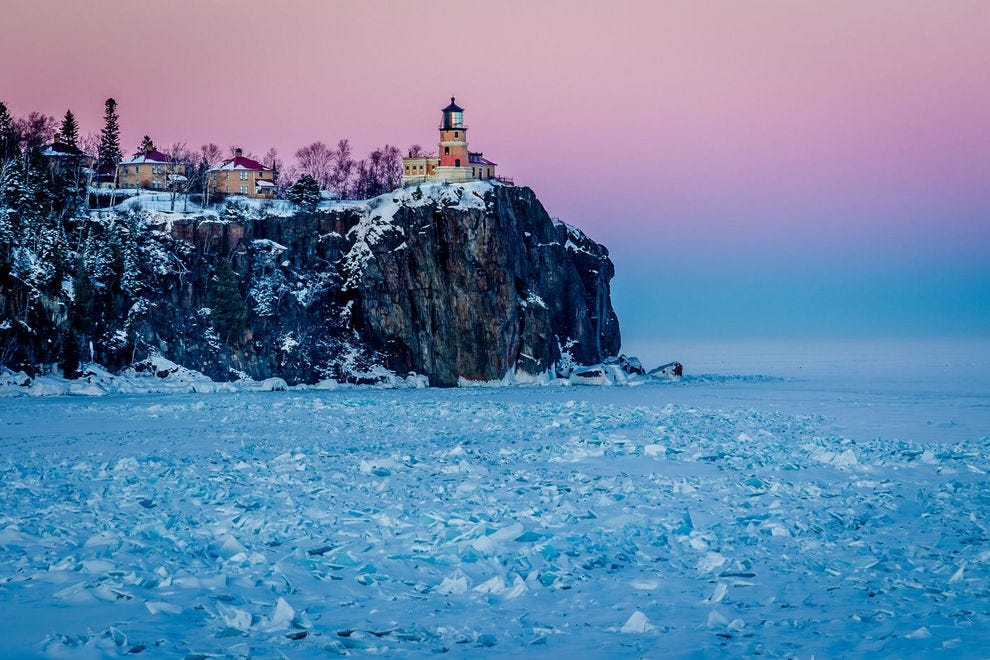 Split Rock Lighthouse in Minnesota