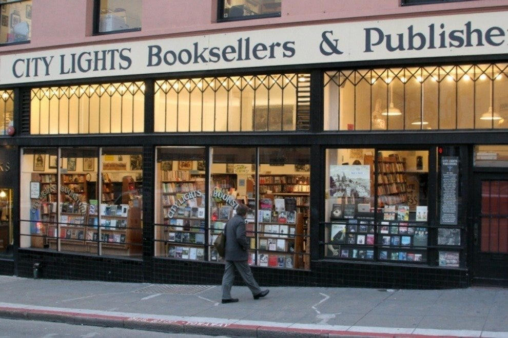 City Lights Bookstore San Francisco Shopping Review
