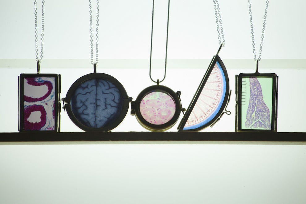 Original Data Necklaces from Science Bee