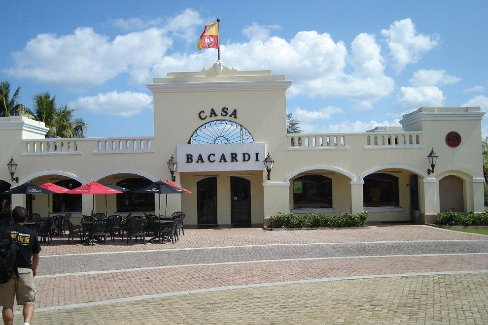 Rum Tasting Tour Of Casa Bacard Ef Bf Bd