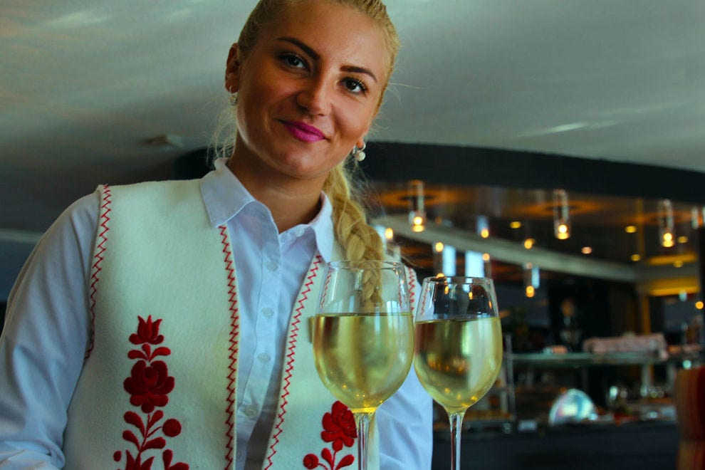 Yes, Slovakia produces mighty fine wine