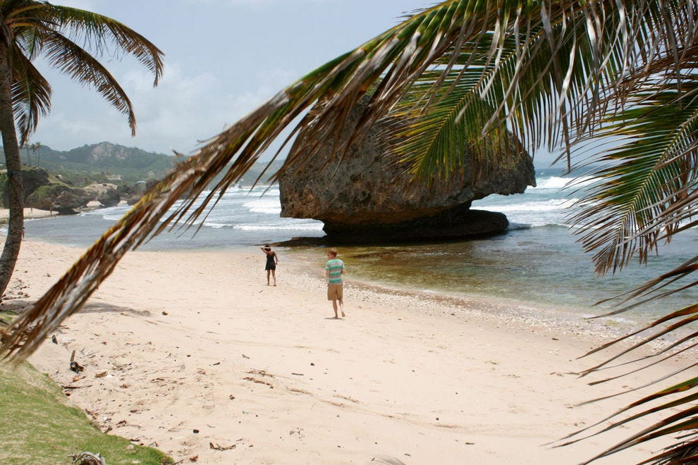 Romance and seclusion at Bathsheba's Soup Bowl Beach