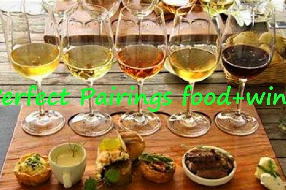 Perfect Pairings food+wine
