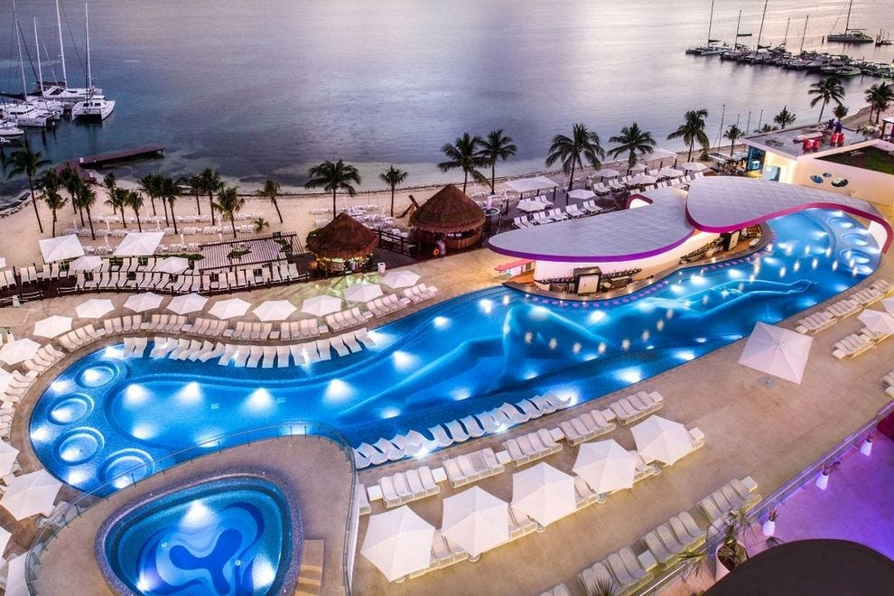 Temptation Cancun Resort S Only All Inclusive