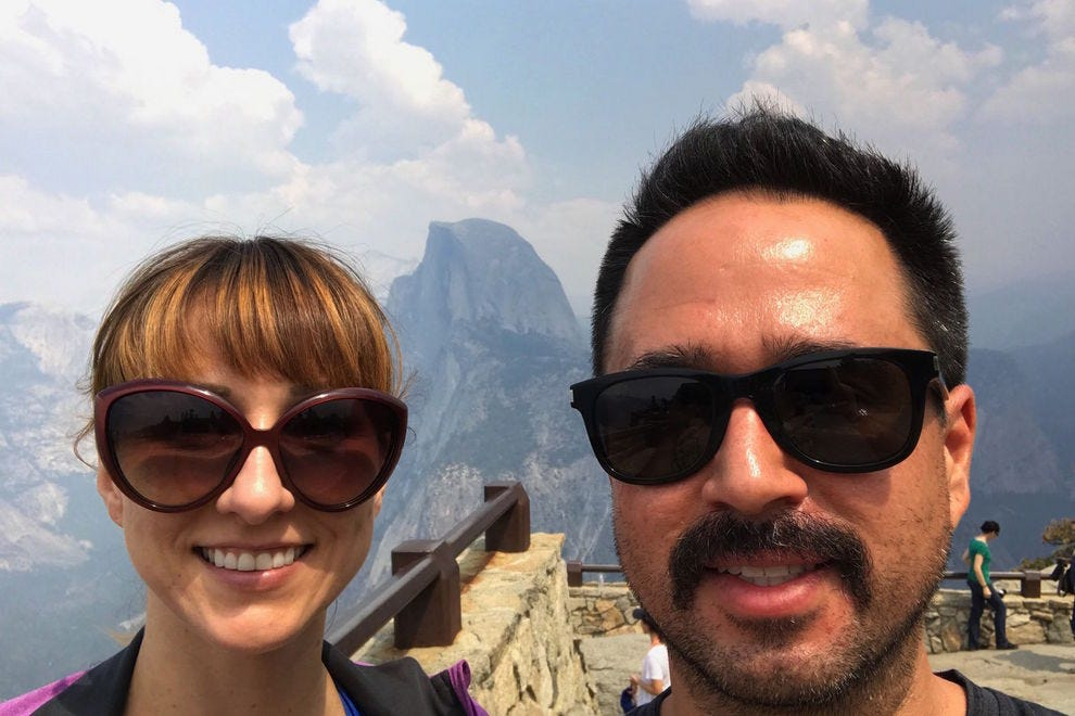 Millennial travelers Sherry Taylor and Kraig Amador