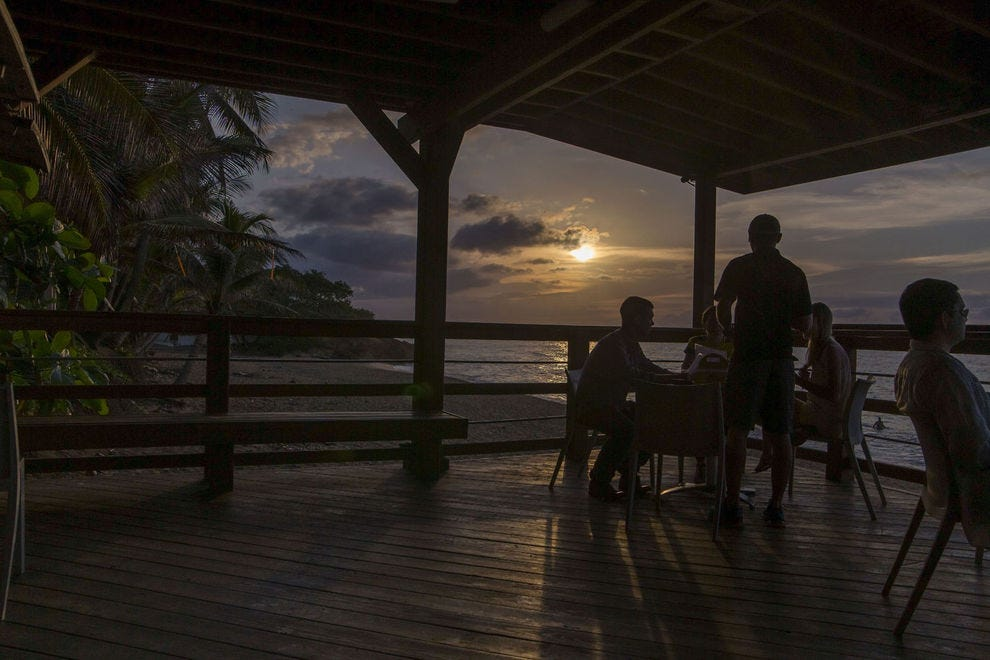 This Puerto Rican beach bar is a perfect spot to watch a sunset