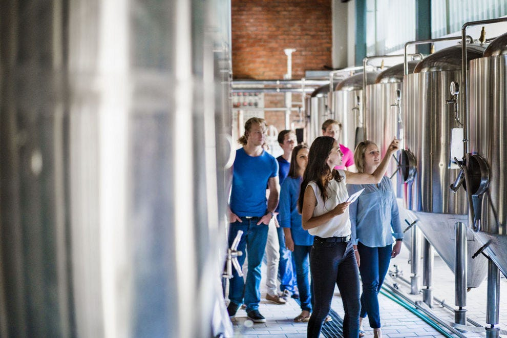 A good brewery tour gives beer drinkers a deeper connection with the product they're enjoying
