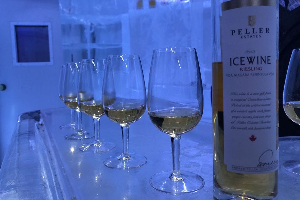 Indulge in ice wine