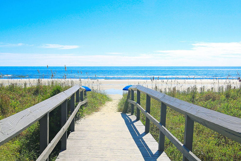 Isle Of Palms To North Myrtle Beach Sc