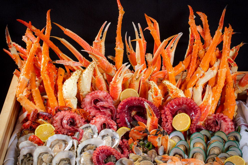 Bacchanal Buffet at Caesars Palace