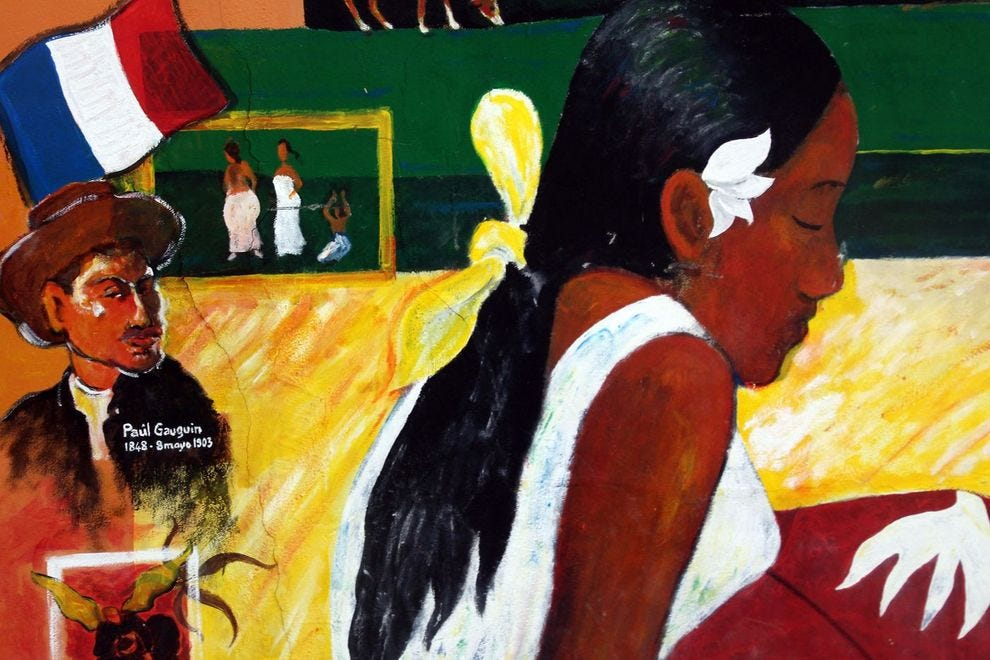 Gauguin's early inspiration