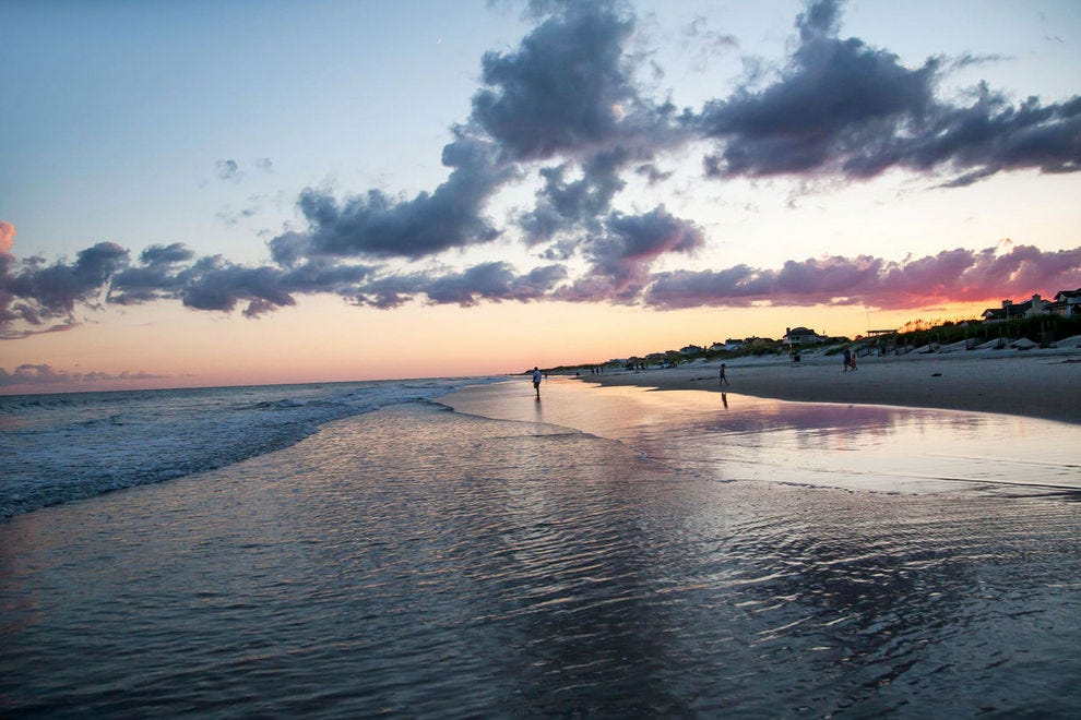 Emerald Isle occupies a barrier island on North Carolina's Crystal Coast