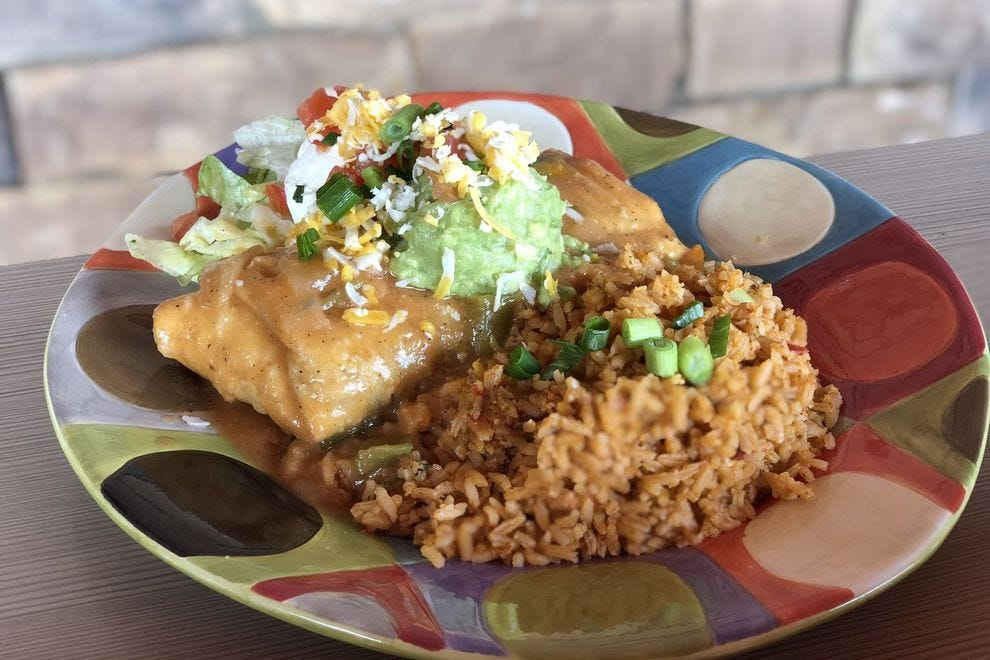 Chimichanga from Valle Luna in Phoenix