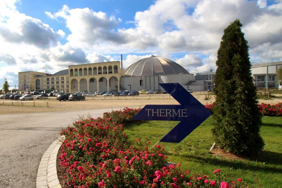 One of the world's largest thermal baths