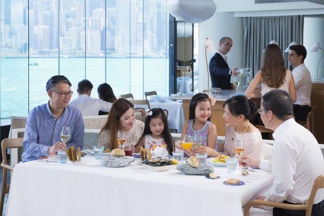 Waterfront Dining in Hong Kong