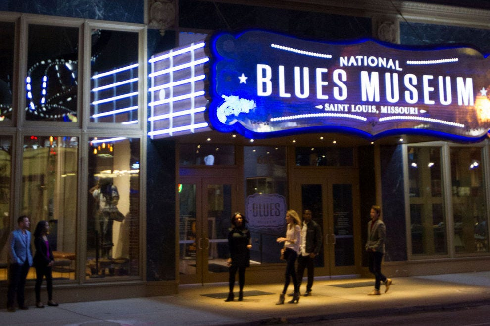 The National Blues Museum allows visitors to sample their own take-home tunes, among other interactive draws
