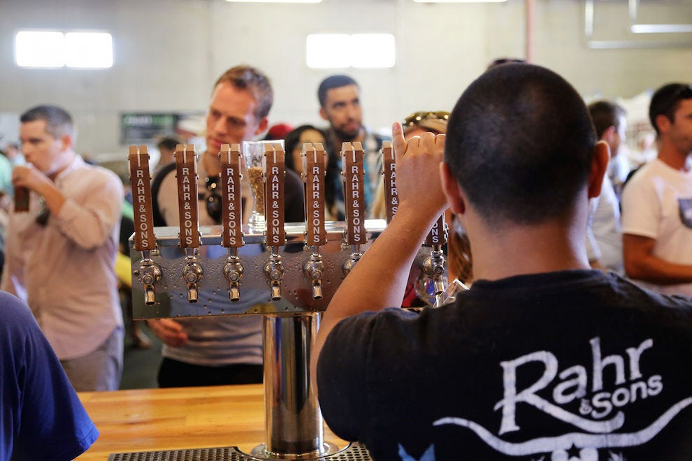 Rahr & Sons is one of the breweries along the Fort Worth Ale Trail