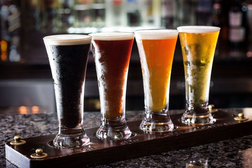 Raglan Road's overall beer list is extensive but its Signature Brews Flight features tastes of exclusives, each crafted within a quick drive of Disney Springs