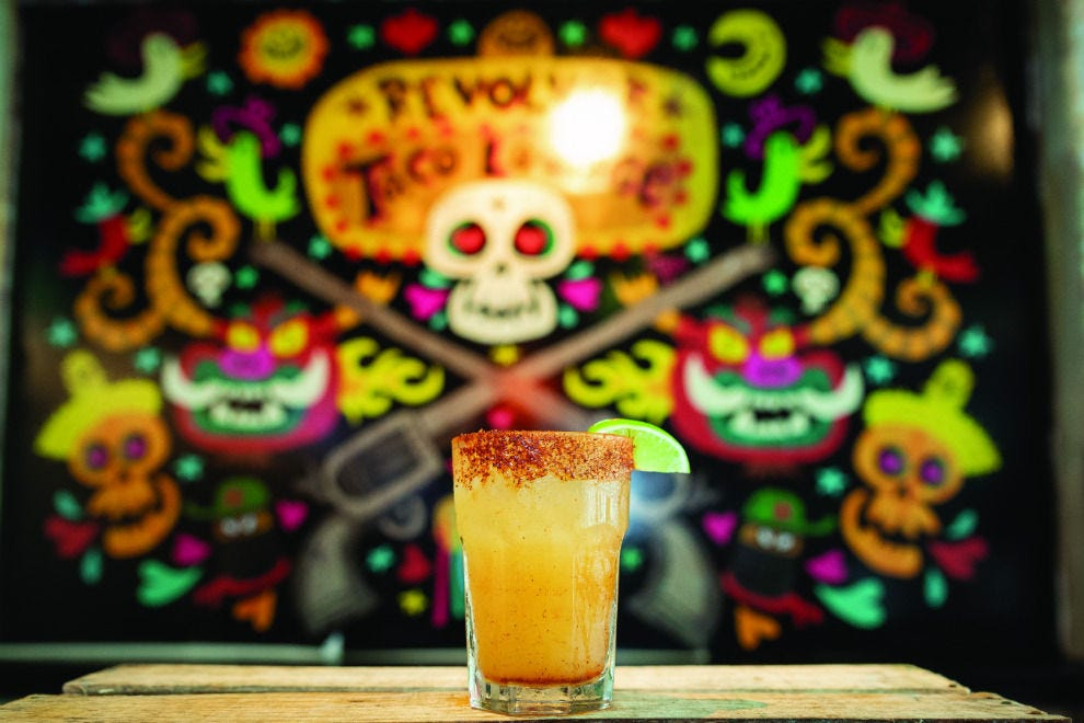 Purists love Revolver Taco Lounge's namesake margarita for its perfect balance of acidity and sweetness