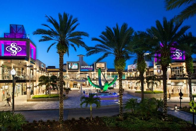Shopping Malls and Centers in St. Petersburg / Clearwater