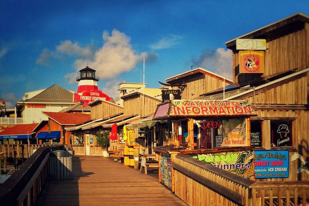 John S P Village And Boardwalk