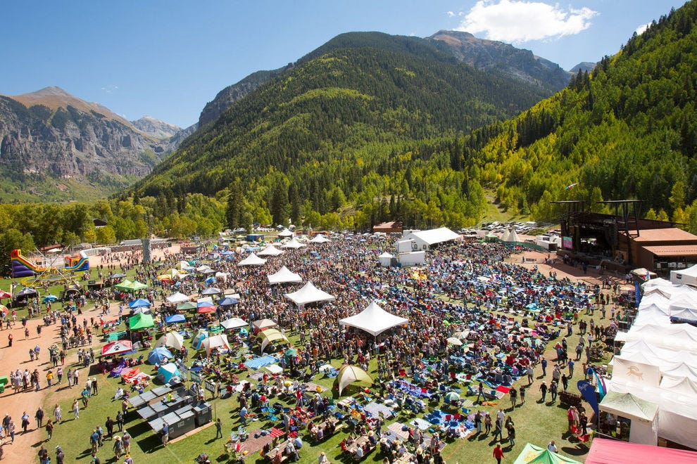 The Telluride Blues & Brews Festival takes over Town Park