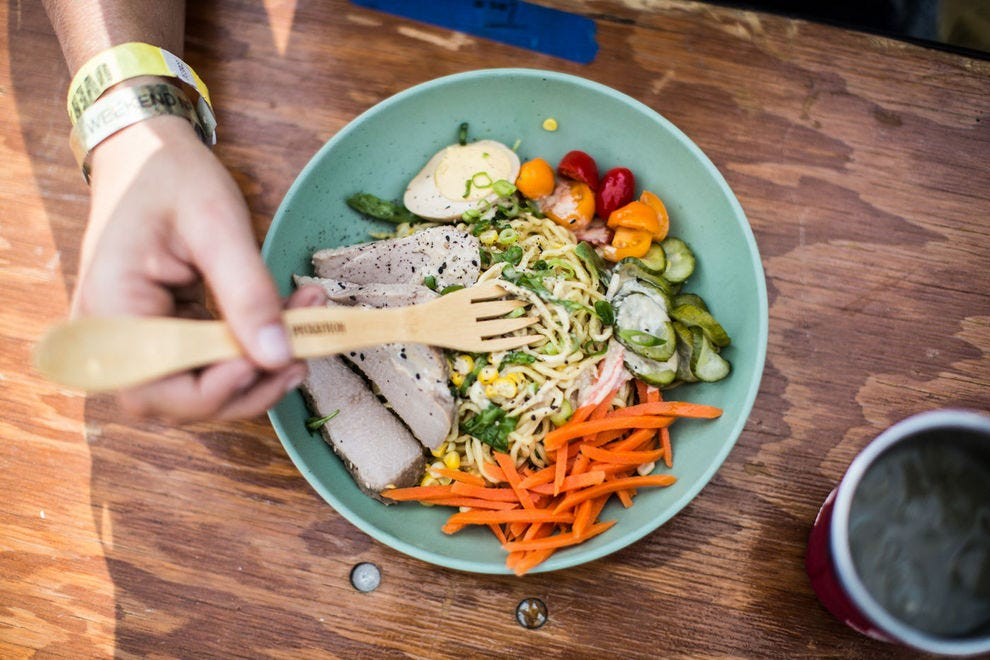 Portland-area vendors serve delicious dishes from poke bowls to biscuit sandwiches