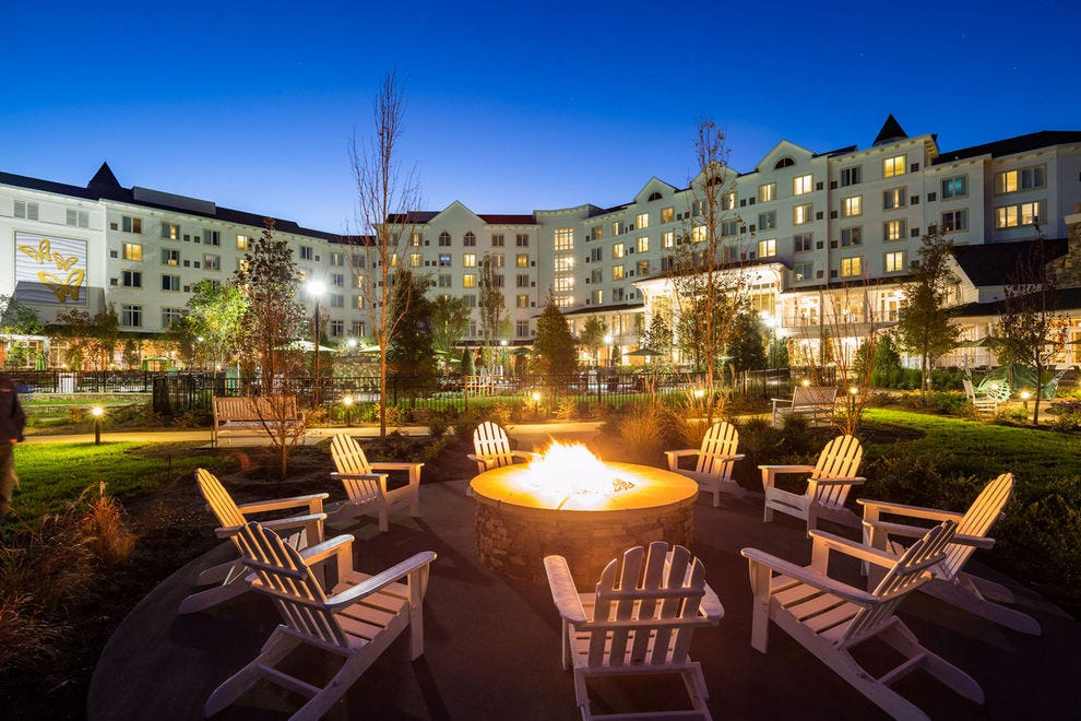 Dollywood's DreamMore Resort sits just minutes from the theme park