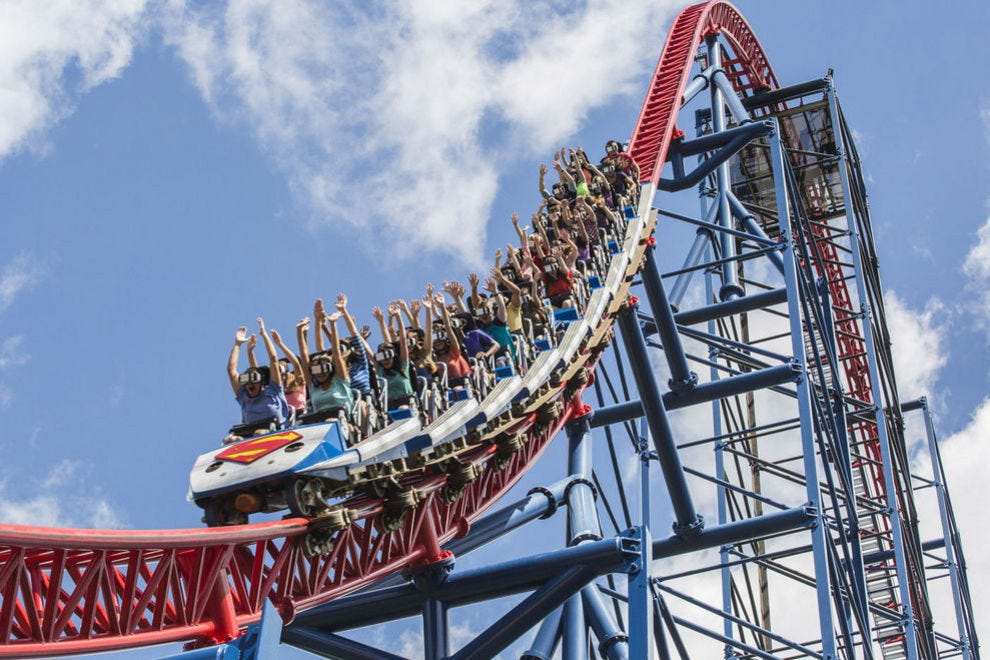 This winning coaster boasts a 208-foot lift hill