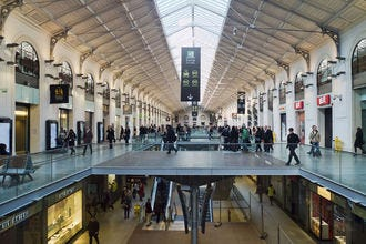 Centre Commercial Saint Lazare Paris