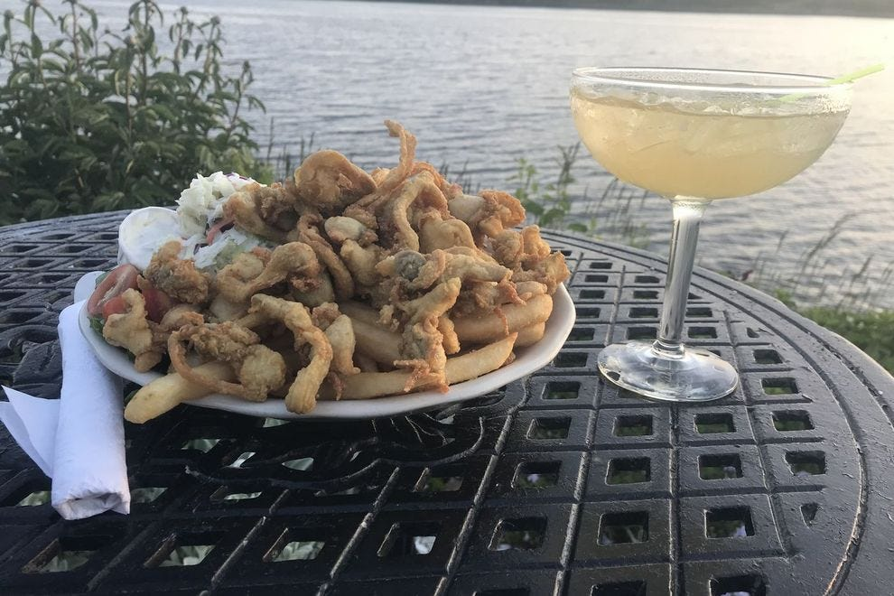 Evelyn's fried clams