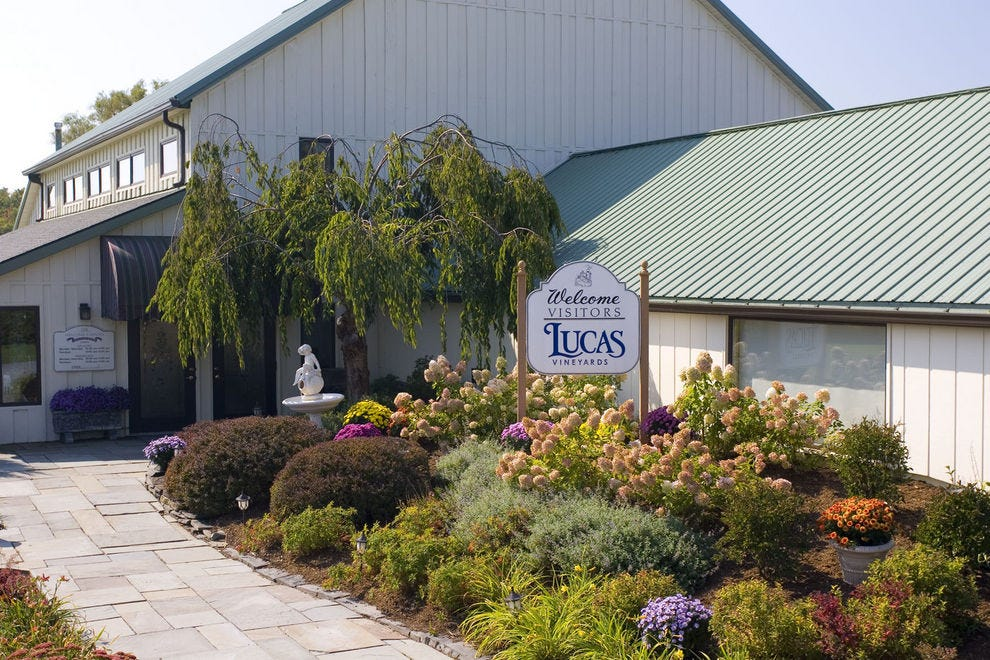 Lucas Vineyards on the Cayuga Lake Wine Trail
