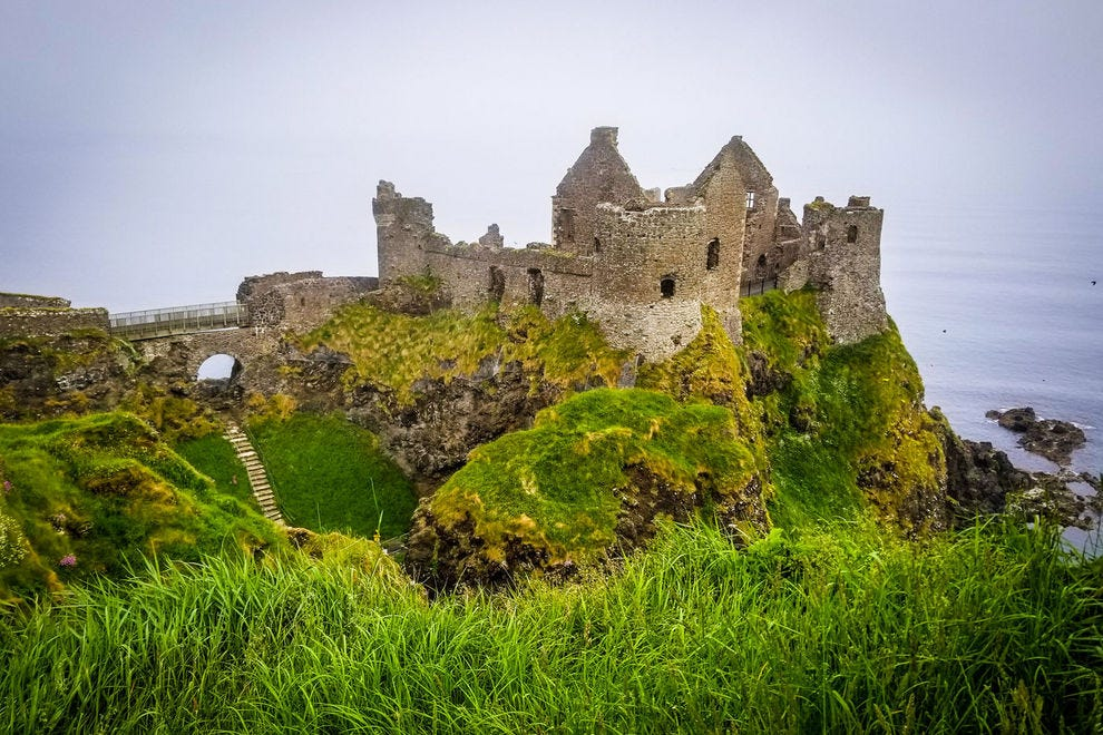 Dunluce Castle, a.k.a. Castle Greyjoy in <em>Game of Thrones</em>