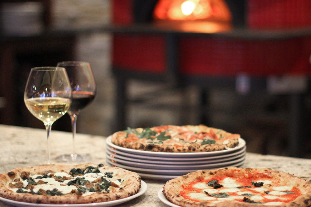 Any pizza from Forno Rosso can be made gluten-free