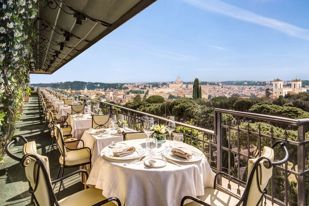 Mirabelle Rome Restaurants Review 10best Experts And