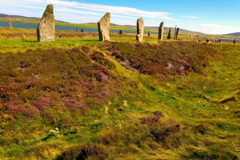 The magical Ring of Brodgar