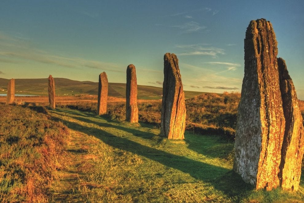 Go back in time at the Standing Stones of Stenness