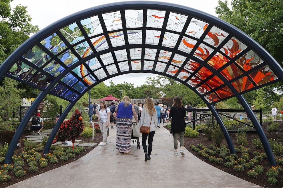 The Children's Garden is a beautiful addition to Franklin Park Conservatory