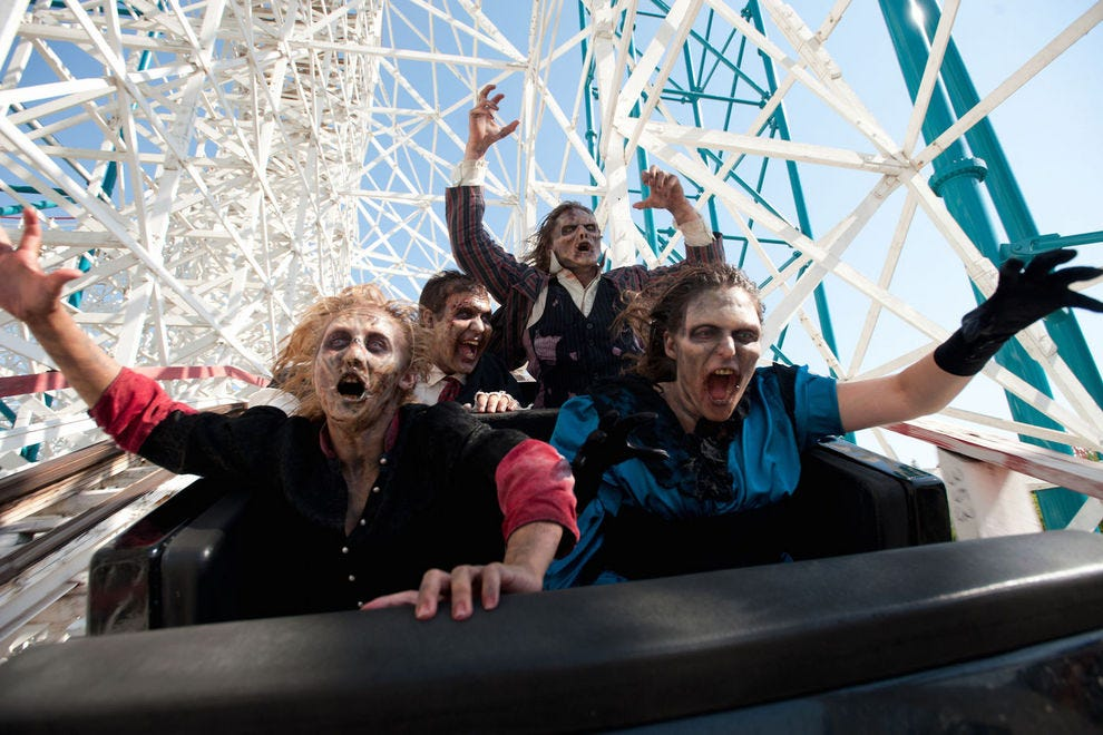 Fright Fest at Six Flags Magic Mountain