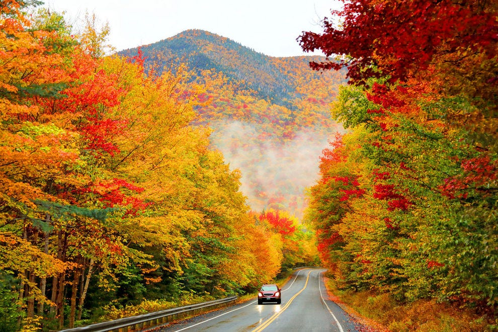 Shades of autumn are already taking over in some parts of the nation