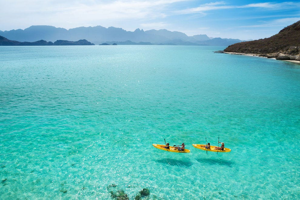 Where to go to experience the unspoiled beauty of Baja