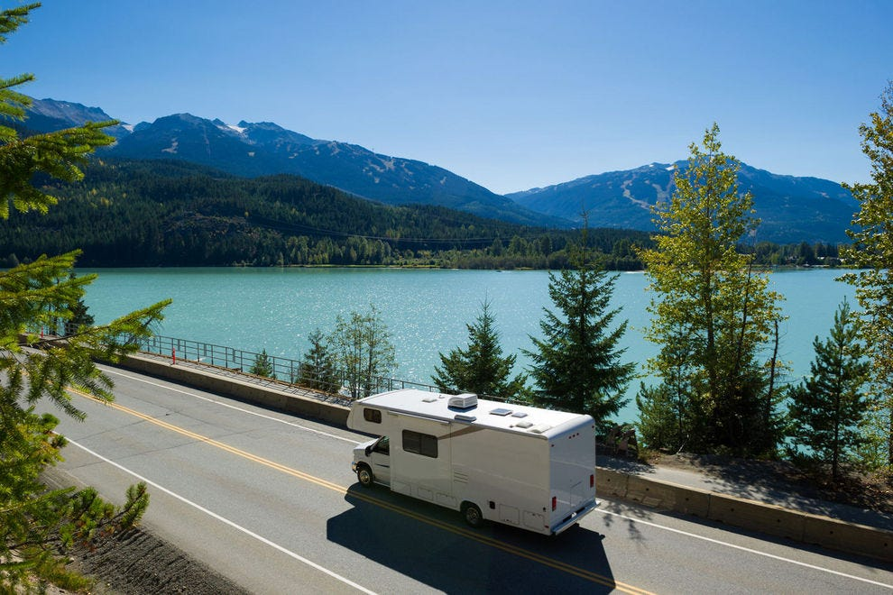 Explore the country in an RV