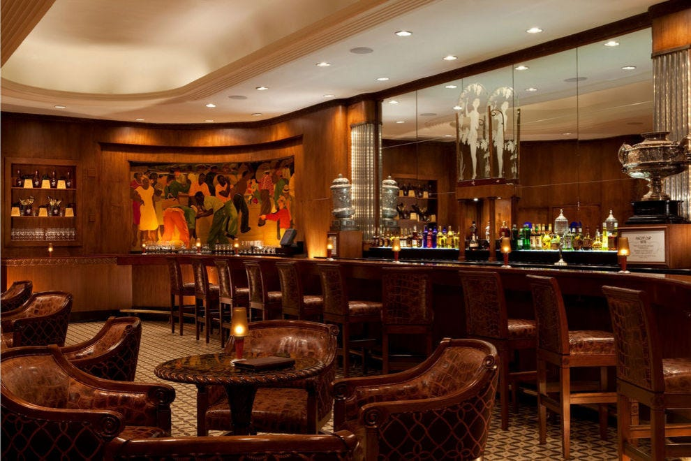 The winning hotel bar gets its name from a classic cocktail