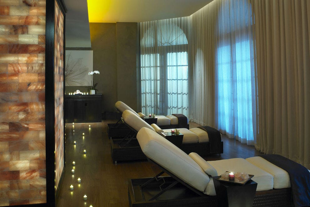 South Beach Oceanfront Hotels With Steam Room Spa