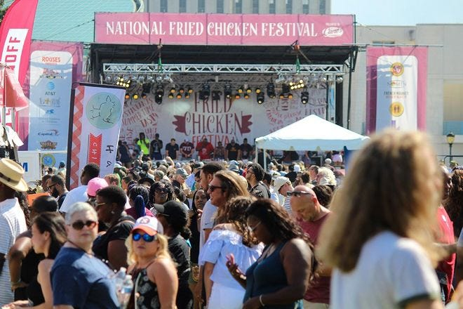 The National Fried Chicken Festival