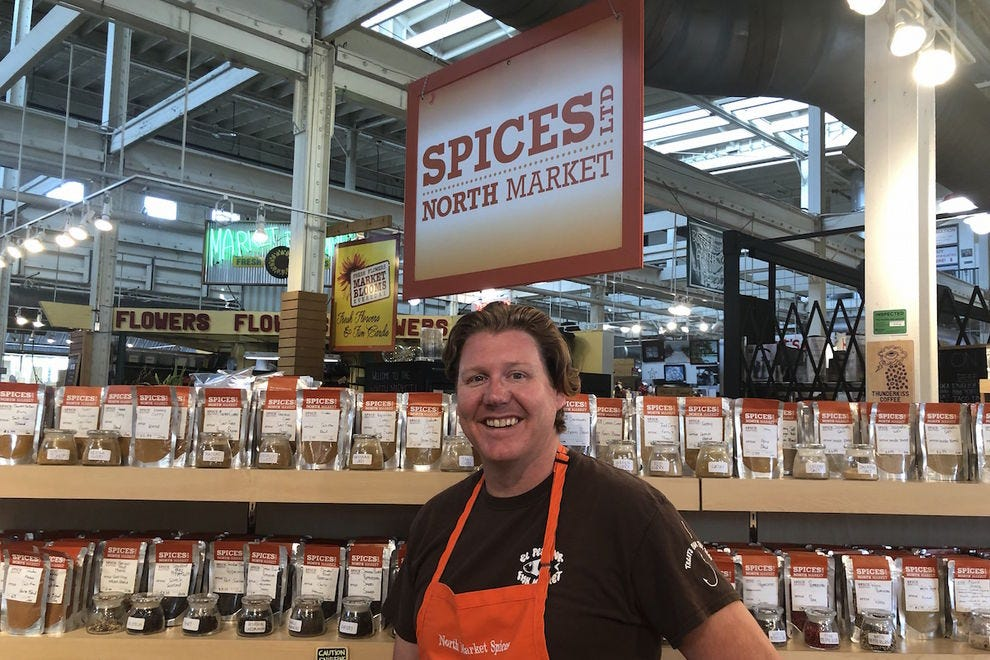 Ben Walters, founder of North Market Spices