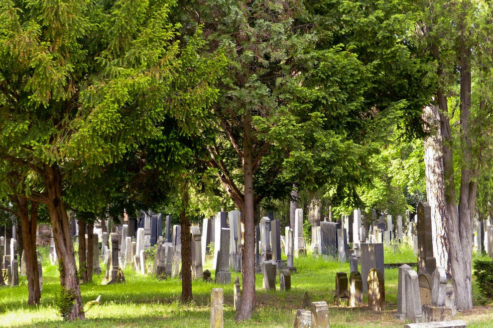 Cemetery recalls the country's Jewish heritage